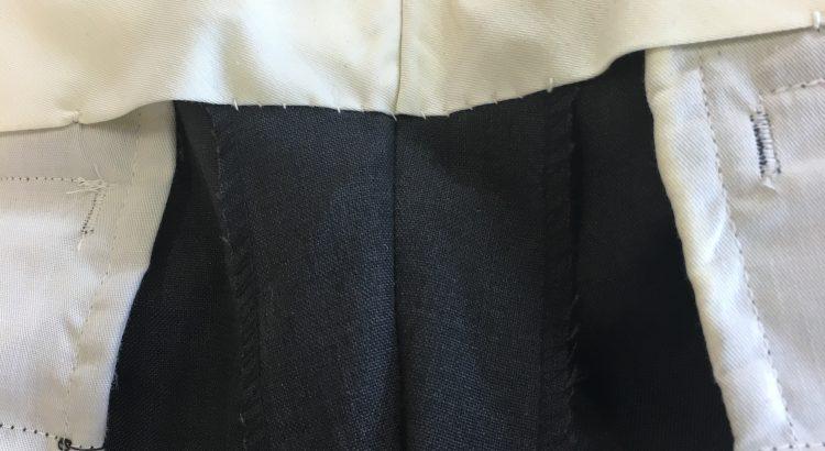 ウエストの縫い代